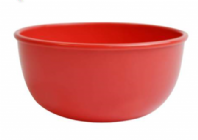 Plastic bowl, red or blue (Code 4219)